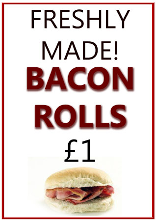 Bacon Rolls poster
