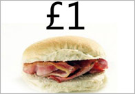 Bacon Roll Poster