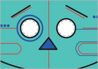 Robot Role-Play Masks