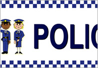Police Station Role Play Sign