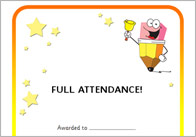 ATTENDANCE CERTIFICATES THUMB Editable Attendance Certificates