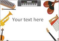 Musical Instrument Notepaper