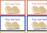 Editable Reading Reward Stickers
