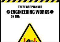 Planned Engineering Works – Role Play Poster