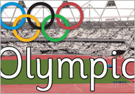 Large Olympic Display Banner