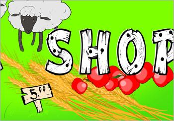Farm Shop Display Banner