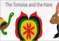 Tortosie and the hare thumb Tortoise & The Hare Interactive Story