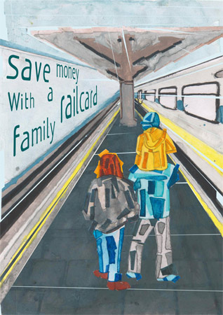 Family Railcard Poster