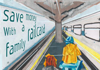 Family Railcard Poster – Train Station Role-play