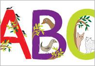 Animal Display Letters