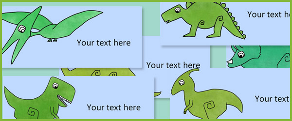 Editable Dinosaur Labels Free Early Years Amp Primary