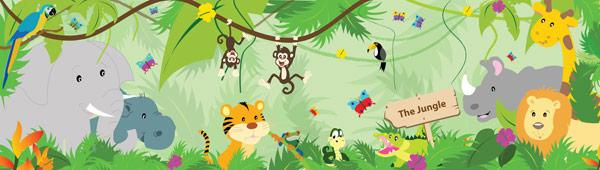 Jungle banner
