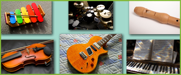 Musical Instrument Photo Collection