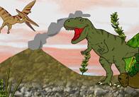 Small World Scenery: Dinosaur Scene