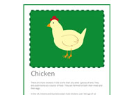 Farm Animal Fact Cards With Editable Text
