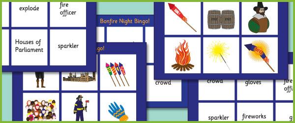 Bonfire Night Bingo