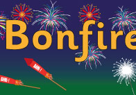 Bonfire Night Display Poster
