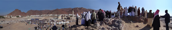 Mountain of Uhud Panoramic