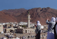 Mountain of Uhud Panoramic Image
