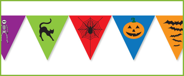 Halloween Bunting Free Early Years Amp Primary Teaching