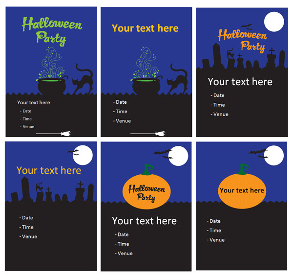 Halloween Party Posters Free Early Years Amp Primary
