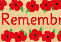Remembrance Day Display Banner
