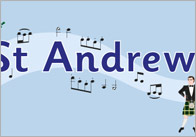 St. Andrew's Day Display Banner