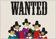 Guy Fawkes 'Wanted' Posters