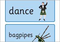 St. Andrew's Day Topic Cards
