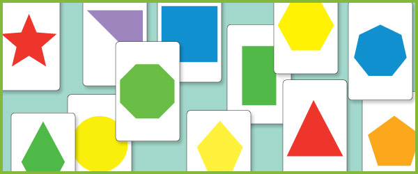 2D Shape Flash Cards (maths teaching resources) | Free Early Years ...