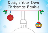 Design Your Own Bauble Template