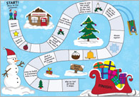 Christmas board game thumb Christmas Board Game