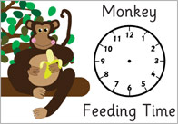 Zoo Feeding Time Role Play Posters
