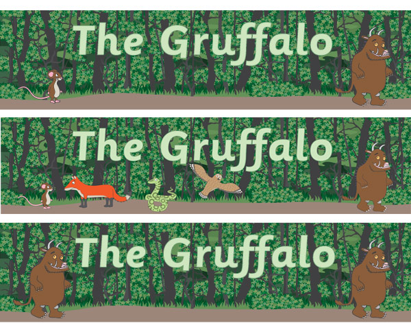 The Gruffalo Posters