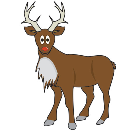 image regarding Pin the Nose on Rudolph Printable called Early Discovering Supplies Rudolph the Crimson-Nosed Reindeer