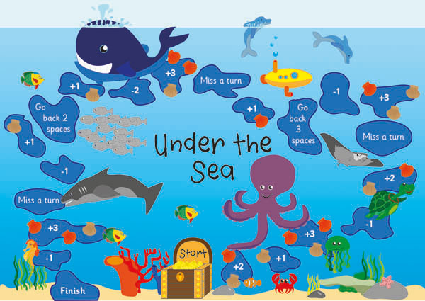 Under the sea board game