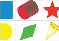 2d3D bingo1 2D & 3D Shape Bingo