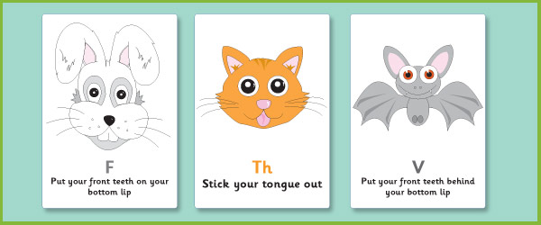 Speech Visual Aid Posters