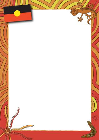 Aboriginal Themed Notepaper