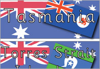 Australia Day Topic Word Cards