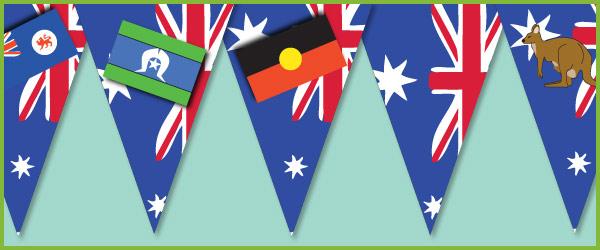 Australia Day Bunting