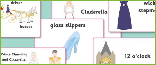 Clean image regarding cinderella story printable