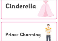 image relating to Cinderella Story Printable named Early Studying Elements Cinderella EYFS /KS1 Instruction
