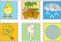 Spring Topic Bingo Cards
