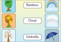 Weather And Seasons Word Mats