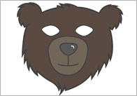 Were going on a bear hunt role play masks 1 We're Going on a Bear Hunt Role Play Masks