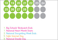 A4 school calendar 1 2013 School Calendar
