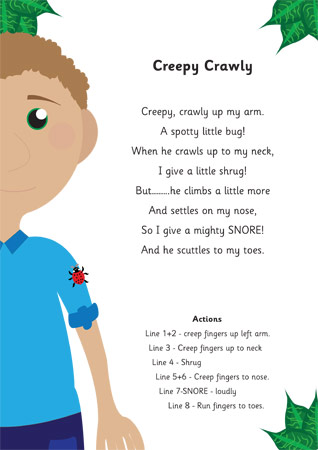 Creepy Crawly Poem