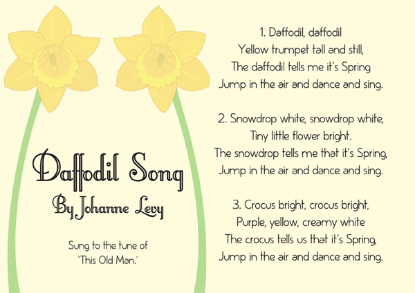 the daffodils poem