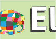 Elmer the Elephant Display Banner